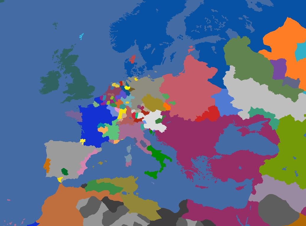 "MP-""Europa Divisa"" 1667"