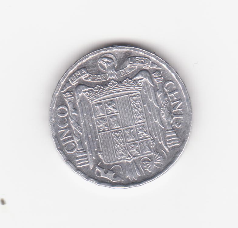 5 céntimos 1953. Estado Español. 5_c_ntimos_1953_001