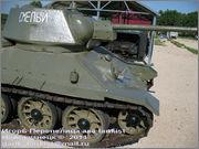 """Советский средний танк Т-34, завод № 183, III квартал 1942 года, музей """"Линия Сталина"""", Псковская область 34_183_029"""