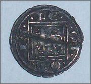 Meaja de Alfonso X. (1252-1284). Coruña. Image