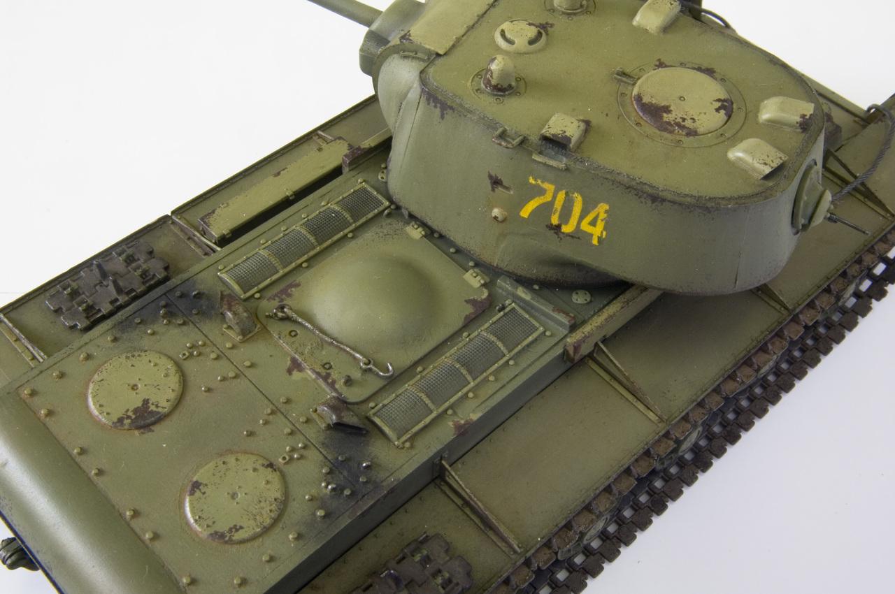 КВ 1942 года с литой башней (Trumpetr) YURA5266