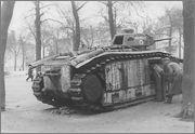 Камуфляж французских танков B1  и B1 bis Char_B1_bis_Mulhouse