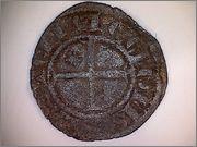 Meaja coronada de Sancho IV de Castilla 1284-1295 Burgos. R51
