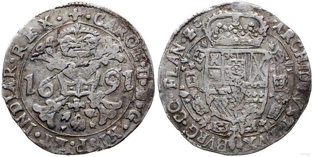 Patagón 1691 Brujas. Carlos II 202340