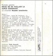 Ajrus Osmanovic - Diskografija Ajrus_Osmanovic_1984_Zadnja_Kas