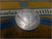 2 Francs. Francia, Estado de Vichy. 1944. París       20131230_190330