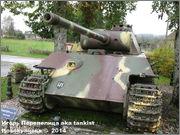 "Немецкий тяжелый танк PzKpfw V Ausf.G  ""Panther"",  rue D'Erezee, Manhay, Belgique Panther_Manhay_009"