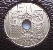 50 céntimos 1963 (*19-63). Estado Español. Variante dedit Estrella76 Image