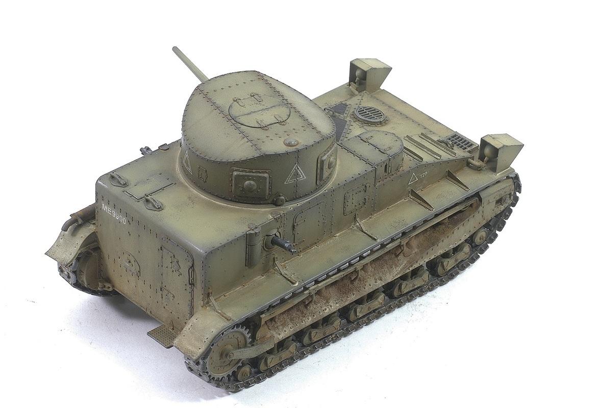 Vickers Medium Tank MK I Hobby Boss 1/35 Image