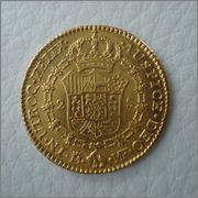 2 Escudos 1800 Carlos IIII MF ( Madrid ) Image