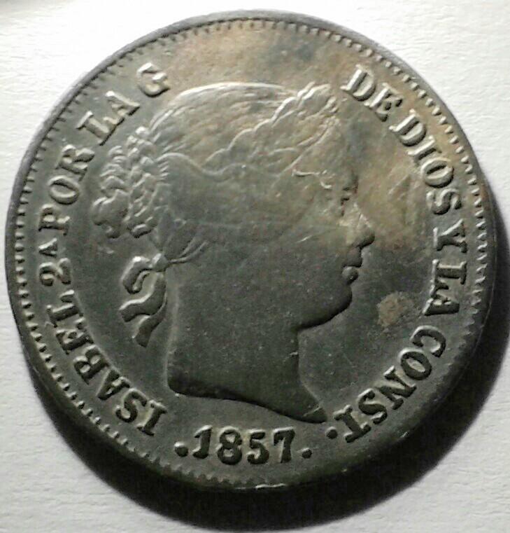 1 real 1857 Isabel II. ¿Error de acuñacion? 20160918_195214_4