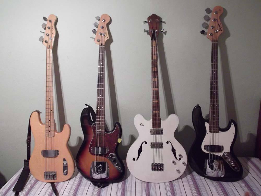 Quantos baixos você tem? Bass