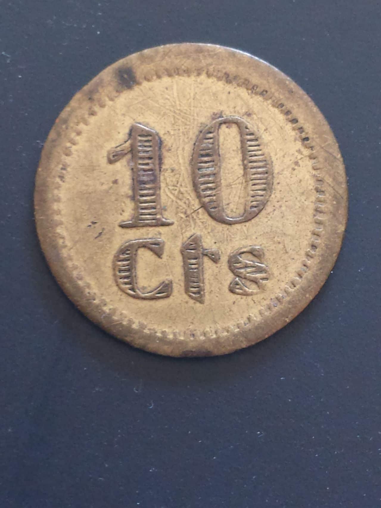 Monedas y fichas de Puebla de Cazalla 20150306_120526