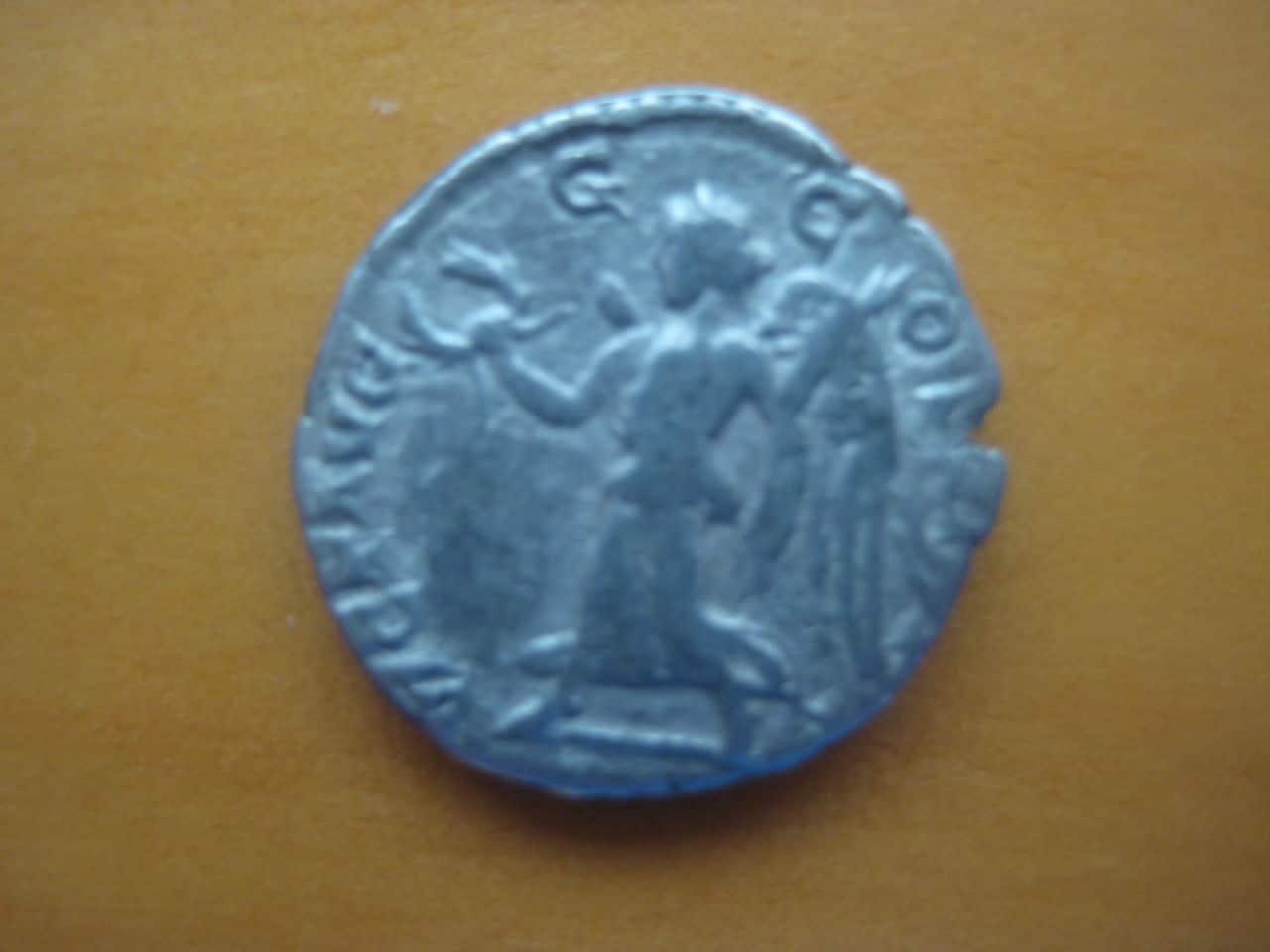 Denario de Septimio Severo. VICT AVGG COS II PP. Roma IMG_1555