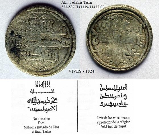 Quirate de Alí b. Yusuf y el emir Sir, Vives 1774. VIVES_1824_2