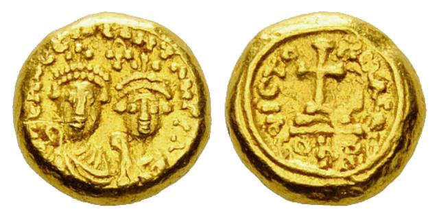 Denominación de las monedas de Bizancio. 1ª parte Solido_globulari
