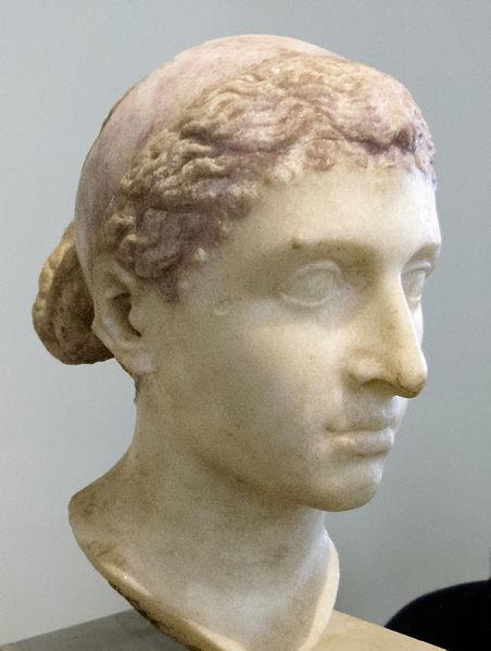 50 piastras. Egipto. Cleopatra. 452px_Kleopatra_VII_Altes_Museum_Berlin1