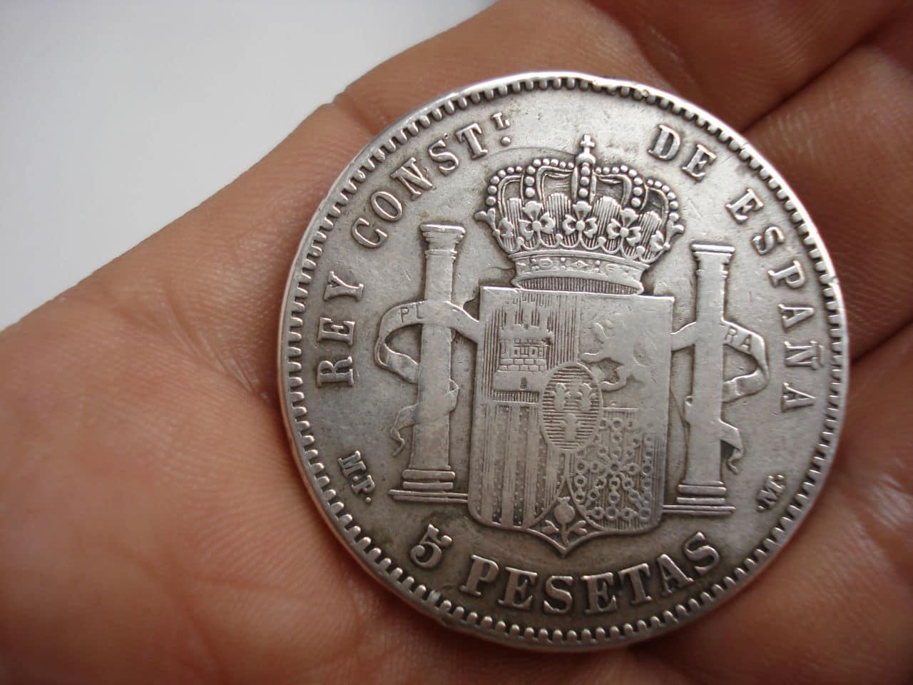5 pesetas 1890-MPM-Alfonso XIII Alfonso_XIII_1890_MPM