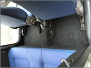 Valvoramo - Pulizia interni Fiat 600 MAI PULITA Dopo12