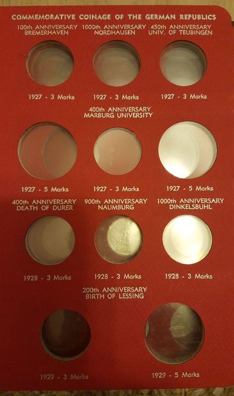 Monedas Conmemorativas de la Republica de Weimar y la Rep. Federal de Alemania 1919-1957 20170406_082411
