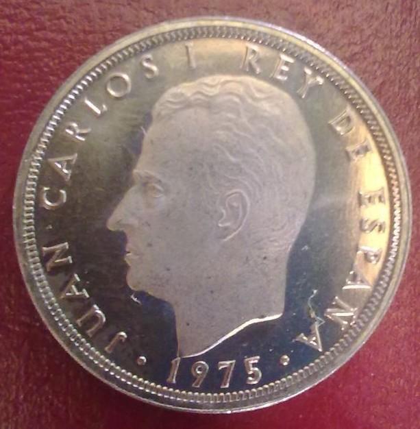 5 Pesetas 1975*76 Juan Carlos I - Dorada. 5152b8c3_o