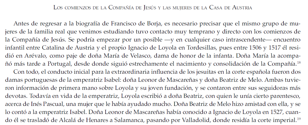 La orden jesuita fue aprobada por un papa Farnesio cuyo cardenalato lo ordenó Rodrigo de Borgia FB1