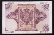 Repeticiones - 1000 Pesetas 1940 (Dedicadas a Carlos I - Serie Repeticiones 4) C12