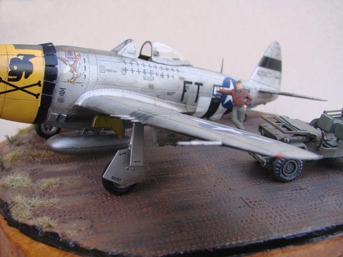 P-47D-30RE Thunderbolt, Revell, 1/72 DSC03177
