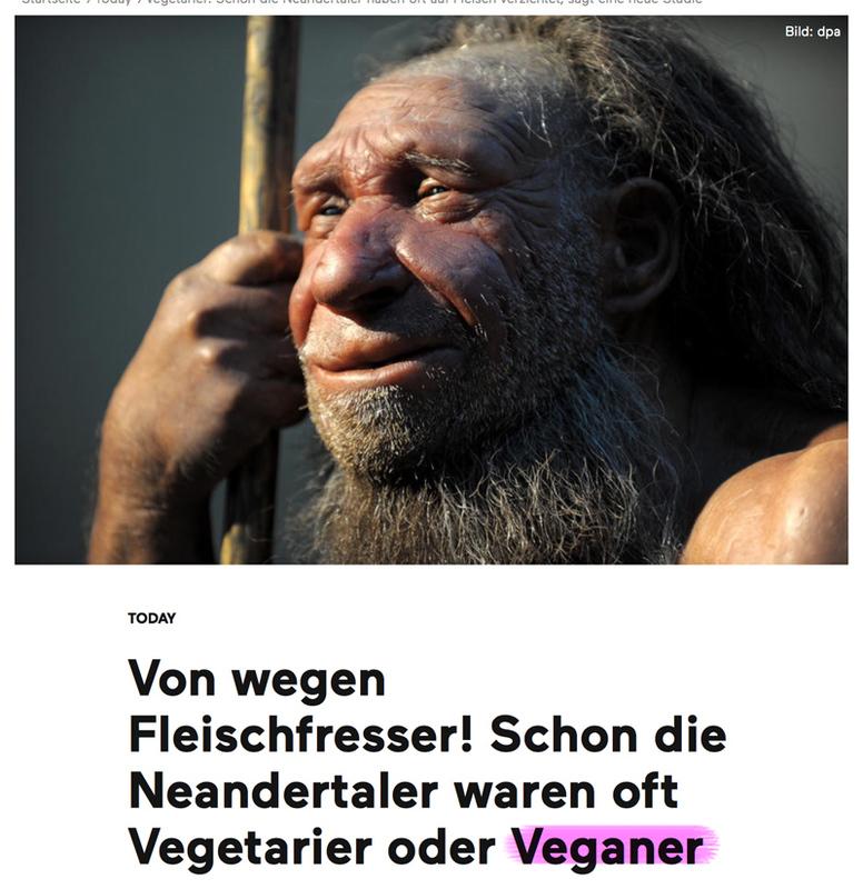 Menschen stammen NICHT vom Affen ab! Neanderganer