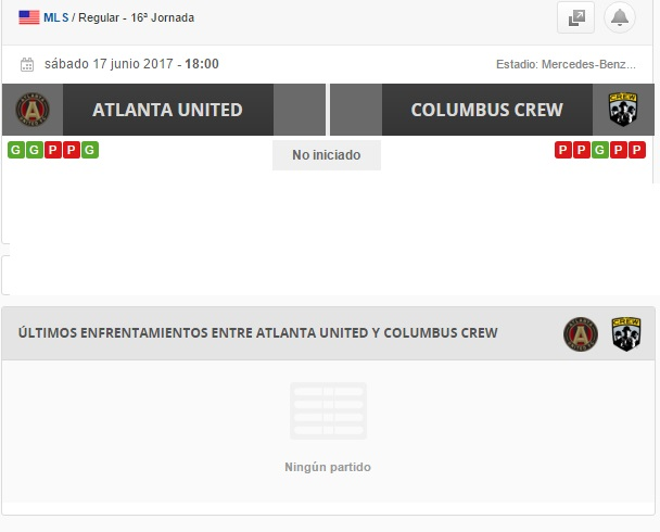 ATLANTA VS COLUMBUS