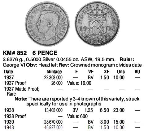 6 Pence. Gran Bretaña. 1943. Six_pence