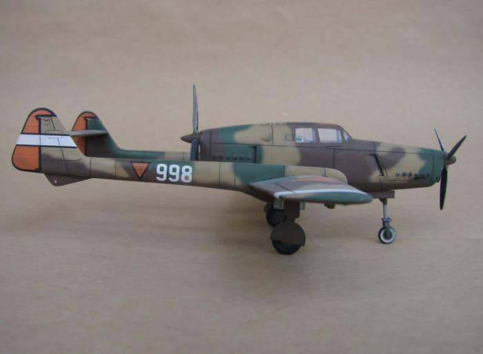 Fokker D-XXIII, RSmodels, 1/72 DSC02912
