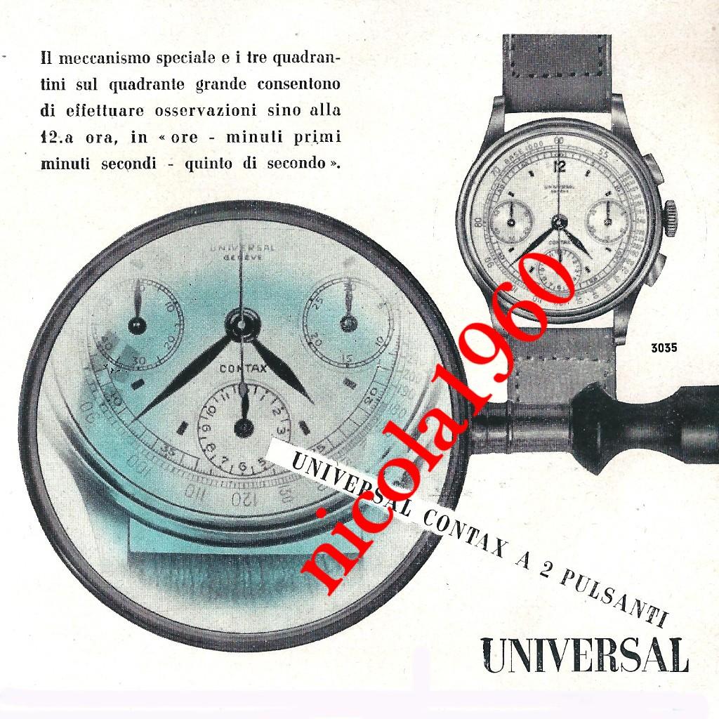 Les chronographes Universal Geneve de la série Compax - 2eme Partie Universal_Zenith0008