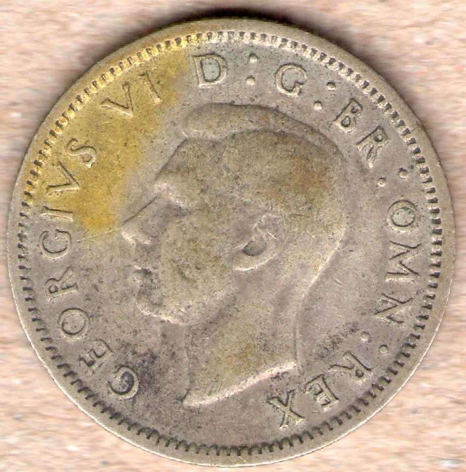6 Pence. Gran Bretaña. 1943. Img054