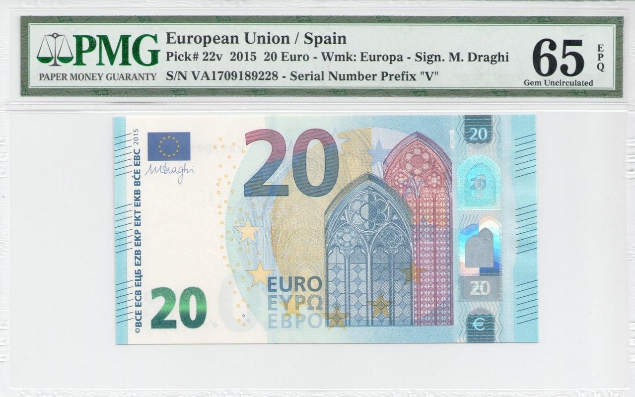 Colección de billetes españoles, sin serie o serie A de Sefcor - Página 2 Serie_europa_20_A_anverso
