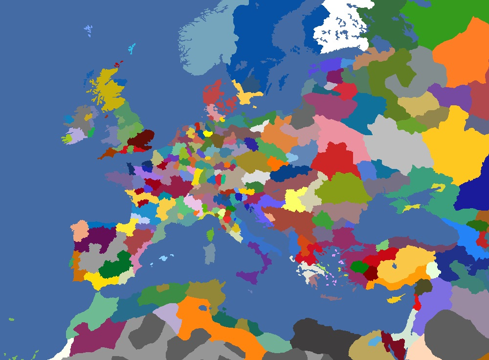 "MP-""Europa Divisa"" 1468"
