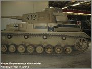 Немецкий средний танк PzKpfw IV, Ausf G,  Deutsches Panzermuseum, Munster, Deutschland Pz_Kpfw_IV_Munster_104