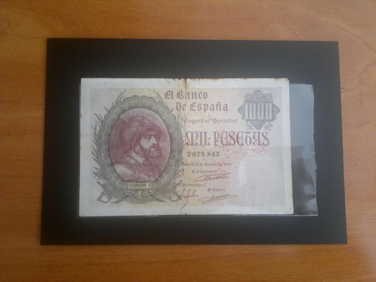 1000 Pesetas de 1940 (Carlos I). Falso de Época. 2013_04_07_613