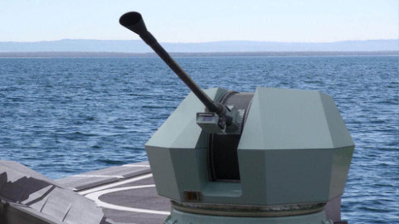 El primer patrullero de la clase Macaé inicia su vida operativa en la Marina de Brasil. 40_Mk4bofors