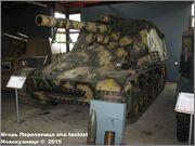 """Немецкая 15,0 см САУ """"Hummel"""" Sd.Kfz. 165,  Deutsches Panzermuseum, Munster, Deutschland Hummel_Munster_176"""