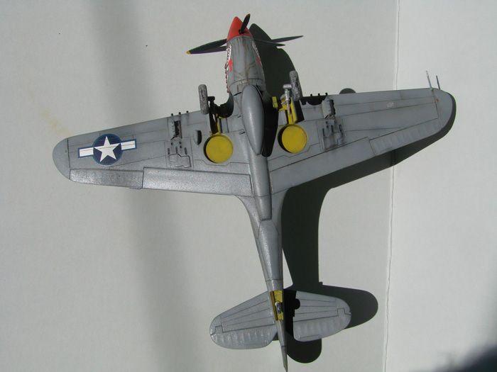 P-40N(rebuild), Hasegawa, 1/72 DSC03750