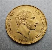 25 pesetas 1881 (*81) Alfonso XII IMG_20140526_024955