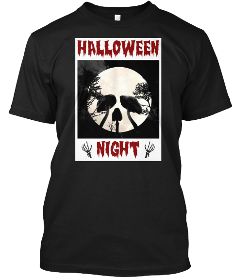 Exclusive Halloween T-shirts! Not Available at Store! Halloween_Night_Tee