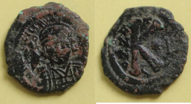 20 nummi de Justino II. Constantinopla 0_20_nummi_justino_ii_1