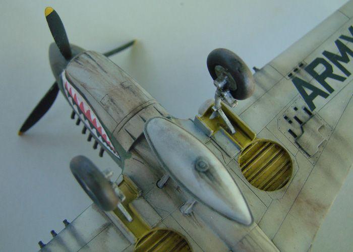P-40E, Hobby Boss, 1/72 DSC03383