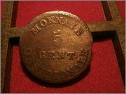 5 centimos 1814 sitio  Anvers P9110025