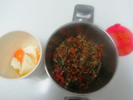 Budín (de verduras y de pescado) Budinverduramix