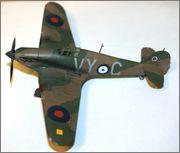 Hawker Hurricane MkI 1/72 airfix IMG_0967