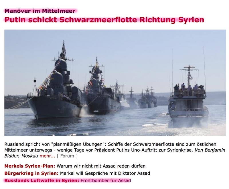Fundstücke und 'Hinweise' auf den bevorstehenden heißen Krieg?! Syrien