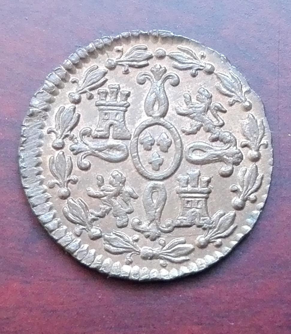 2 maravedís 1830, Segovia. Fernando VII 2_maravedis_1830_3